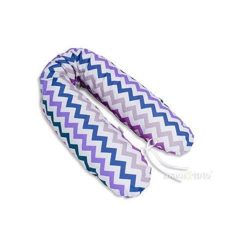 poduszka dla ciężarnych kobiet zygzak fiolet marki Mamo-tato