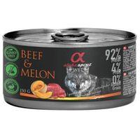 Alpha Spirit Adult All Breed Beef & Melon 150g - mokra karma dla dorosłych psów wszystkich ras wołowina i melon 150g Dostawa GRATIS od 99 zł (8437015969893)