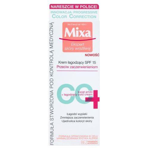 Mixa Cc krem łagodzący przeciw zaczerwienieniom spf15 50 ml