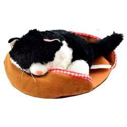 Madej Interaktywny kotek z legowiskiem czarno-biały - szybka wysyłka - 100% zadowolenia. sprawdź już dziś!