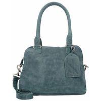Cowboysbag Bag Carfin Torba na ramię skórzana 36 cm petrol ZAPISZ SIĘ DO NASZEGO NEWSLETTERA, A OTRZYMASZ VOUCHER Z 15% ZNIŻKĄ
