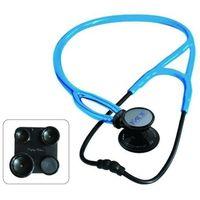 Stetoskop kardiologiczny MDF ProCardial ERA 797X lekki 6w1 - czarno-niebieski