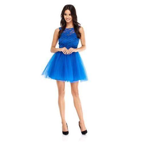 46478b06cd Sukienka virginia w kolorze chabrowym (Sugarfree) - sklep ...