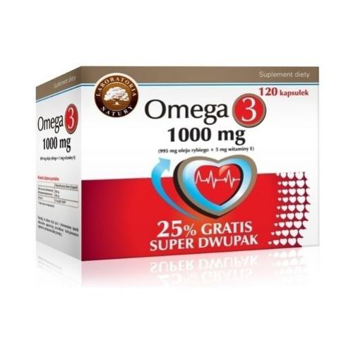 Omega 3 1000mg LN 120 kaps.