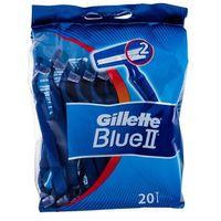 Gillette blue ii maszynka do golenia 1x20 szt dla mężczyzn (3014260209148)