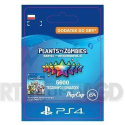 Plants vs. zombies: battle for neighborville 5600 tęczowych gwiazdek [kod aktywacyjny] ps4 marki Sony