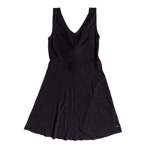 sukienka ROXY - Buying Time True Black (KVJ0) rozmiar: S