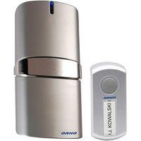 Dzwonek bezprzewodowy ORNO OR-DB-QH-108 230V z learning system POP AC Srebrny, OR-DB-QH-108