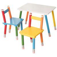 Dekoria  zestaw pencil stolik +2 krzesełka