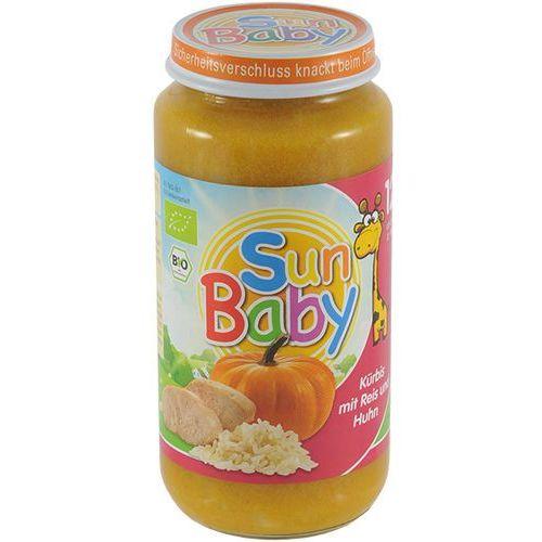 Dynia z ryżem i kurczakiem BIO 250g BabySun od 12 miesiąca