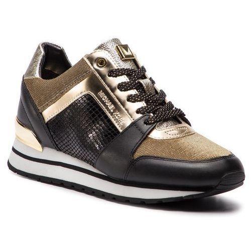 01cc4e6e1f2e1 MICHAEL Michael Kors Sneakersy MICHAEL MICHAEL KORS - Billie Trainer  43R9BIFS1D Blk Gold