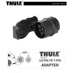 Thule Miniadapter 9907 do podłączenia wtyczki 7-bolcowej do gniazda 13-stykowego czarny 2018 Akcesoria do bagażników, 562