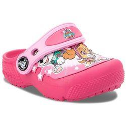 Klapki - funlab paw patrol clogs ps g 205204 vibrant pink marki Crocs