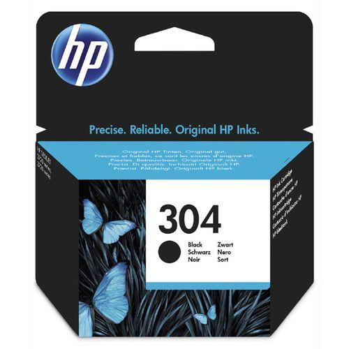Hewlett packard Oryginalny atrament hp 304 [n9k06ae] black