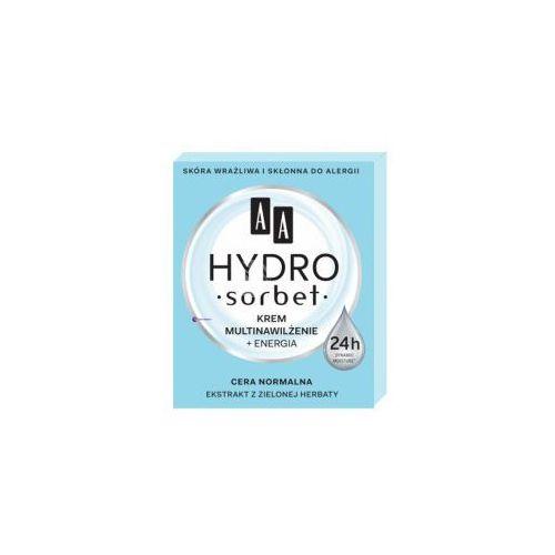 hydro sorbet (w) krem do twarzy multinawilżenie + energia 50ml marki Aa