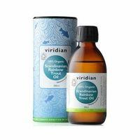 Viridian Ekologiczny Olej ze Skandynawskiego Pstrąga Tęczowego 200ml (5060003595809)