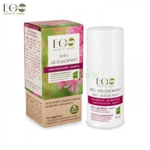 BIO-dezodorant - maksymalna ochrona - kompleks morskich minerałów, cynk, organiczny ekstrakt z oczaru wirginijskiego, 50g (4627089433664)