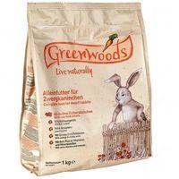 Greenwoods small animals 3 kg greenwoods karma dla gryzoni w super cenie! - dla królika miniaturowego (4260077041528)