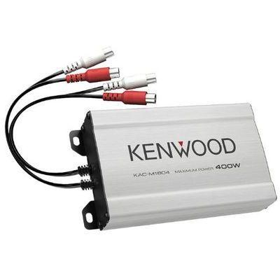 Wzmacniacze samochodowe Kenwood