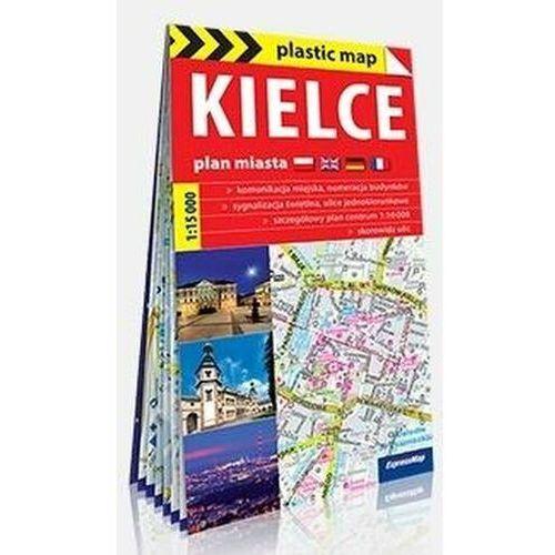 Plastic map Kielce 1:15 000 mapa turystyczna - praca zbiorowa - książka (2016)