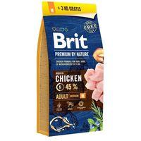 dog premium by nature adult m - 3kg marki Brit