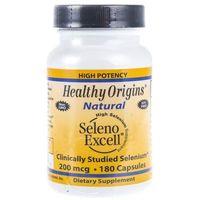 Kapsułki Healthy Origins Seleno Excell 200 mcg - 180 kapsułek
