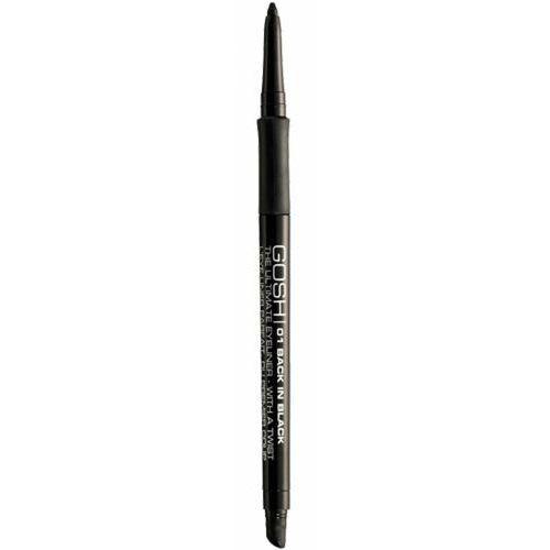 Gosh copenhagen Gosh ultimate eyeliner with a twist - back in black wykręcana kredka do oczu (01) - Bardzo popularne