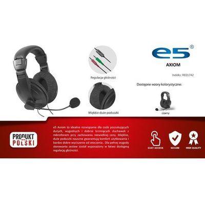 Słuchawki E5