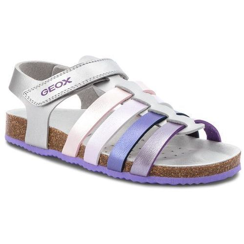 Sandały - j n.s.aloha g. c j821cc 000nf c1316 d silver/lilac marki Geox