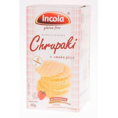 CHRUPAKI Ciasteczka naturalne o smaku pizzy INCOLA bezglut. 125 g