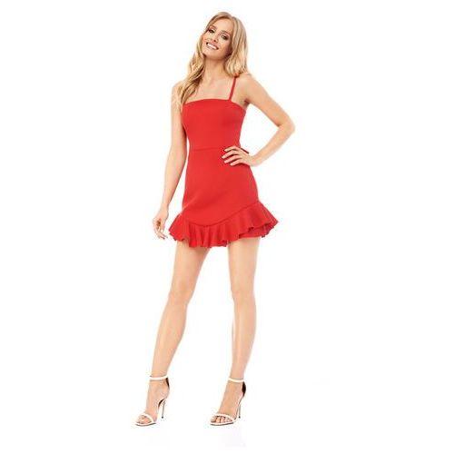 Sukienka Azalia w kolorze czerwonym, kolor czerwony