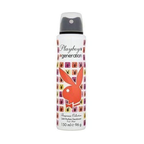 Parfum for her, 75 ml. deodorant - playboy od 24,99zł darmowa dostawa kiosk ruchu Playboy