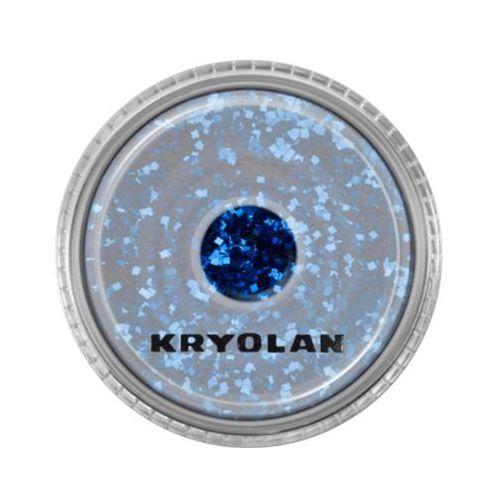 Kryolan polyester glimmer coarse (navy blue) gruby sypki brokat - navy blue (2901) - Niesamowity upust
