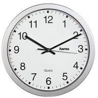HAMA Zegar kwarcowy CWA100, srebrny, kolor szary
