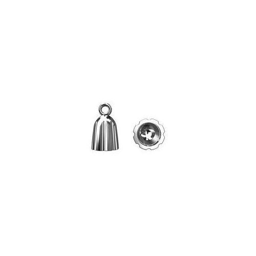 Tulejka do wklejania chwostów, srebro próba 925 TWC 4,6