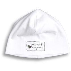 Czapka smerfetka NANAF ORGANIC, Basic, biała - Biały
