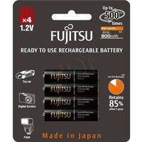 Fujitsu 4 x akumulatorki  black hr-4uthc r03/aaa 950mah (4976680816131)