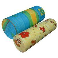 Wałek ortopedyczny / rehabilitacyjny - pokrowiec bawełniany 10x50 marki Rehan