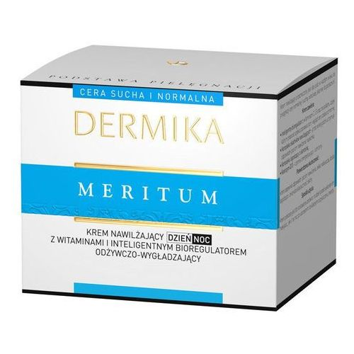 Dermika Meritum Forte krem nawilżający do cery normalnej i suchej (Anti-Aging Hydration for Skin of Every Age) 50 ml