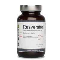 Resveratrol zmikronizowany 100mg – 60kaps – Kenay