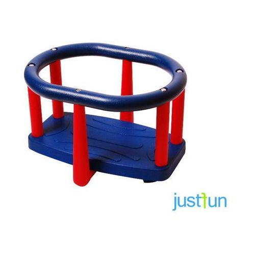 Huśtawka kubełkowa lux + komplet łańcuchów ze stali nierdzewnej 5mm - 1,8m marki Just fun