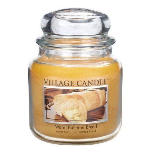 Village Candle Świeczka zapachowa Ciepłe bułeczki - Warm Buttered Bread, 397 g, 397 g