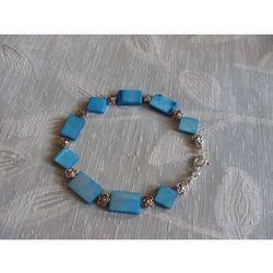 B-00007 Bransoletka na rękę z kostek masy perłowej, 31-03-11