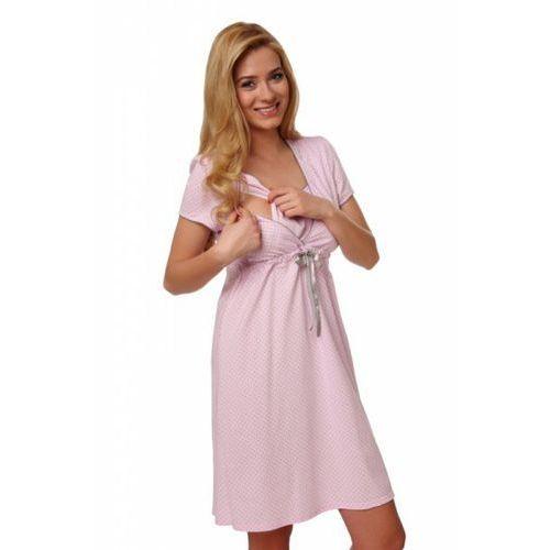 b3e6f186ef82c0 Zobacz w sklepie Italian Fashion felicita krótki rękaw różowy koszula nocna