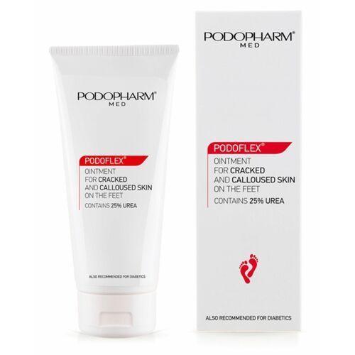 Podopharm podoflex ointment for cracked and callused skin on the feet maść do popękanej i zrogowaciałej skóry stóp (75 ml) - Bombowy upust