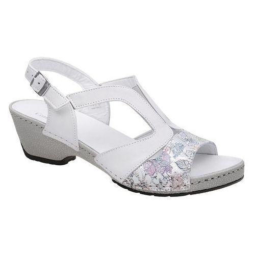 Sandały COMFORTABEL 710927-3 Lavender Białe na haluksy