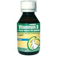 Biofaktor vitaminium b-complex +liver extract - preparat dla gołębi 100ml