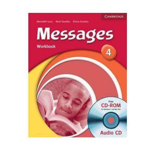 Messages, Level 4, Workbook (zeszyt ćwiczeń) with Audio CD (2006)
