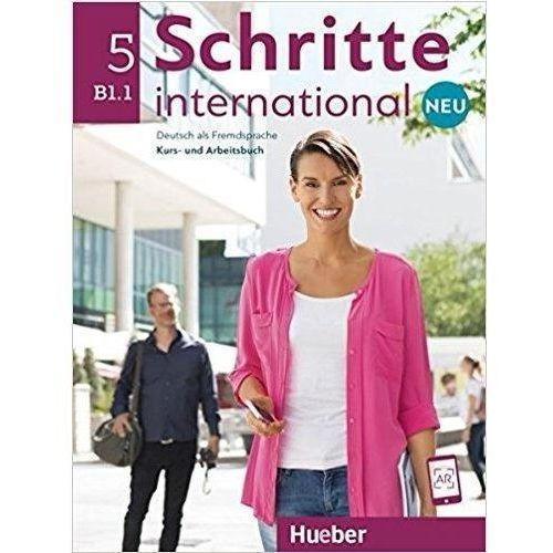 Schritte international Neu 5 KB+AB+CD PL HUEBER - Praca zbiorowa, Hueber