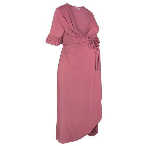67766db21c Sukienka ciążowa i do karmienia na uroczyste okazje jasny jeżynowy marki  Bonprix